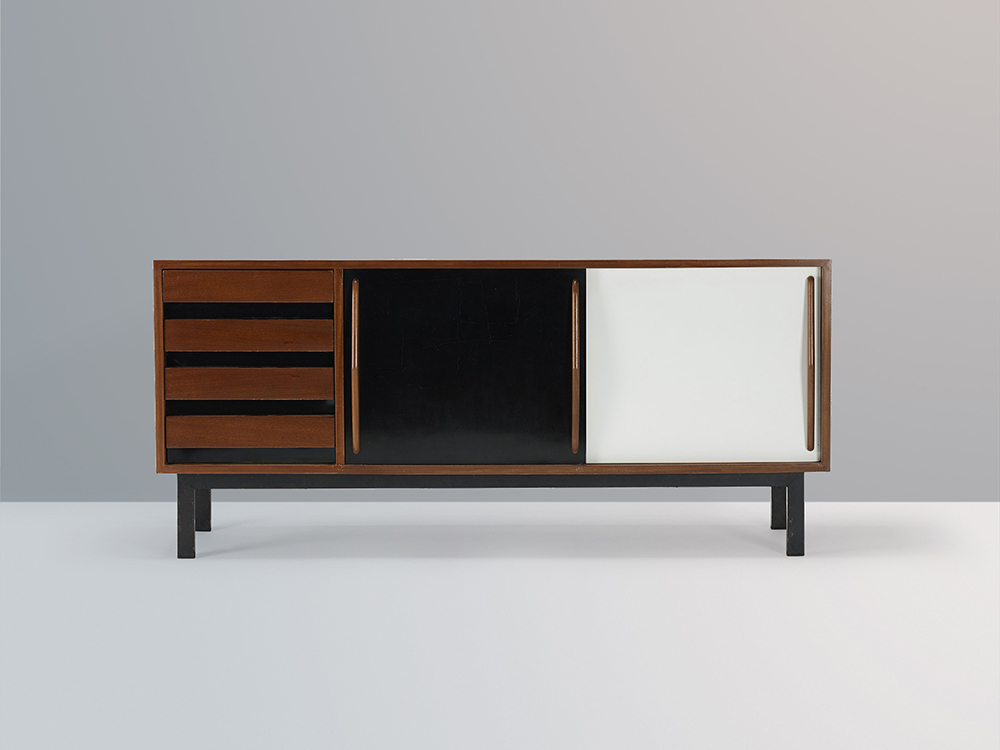 sideboard perriand pierre jeanneret chandigarh meubles de charlotte perriand. Black Bedroom Furniture Sets. Home Design Ideas