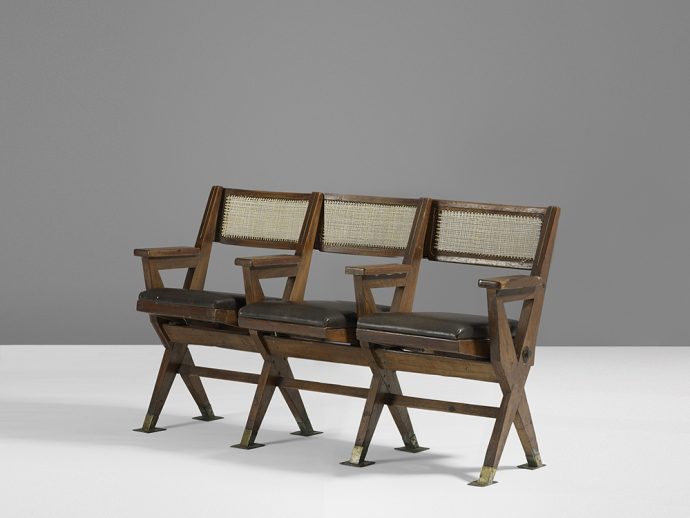 Amazing Pj Cinema Chairs Of Pierre Jeanneret For Chandigarh Caraccident5 Cool Chair Designs And Ideas Caraccident5Info